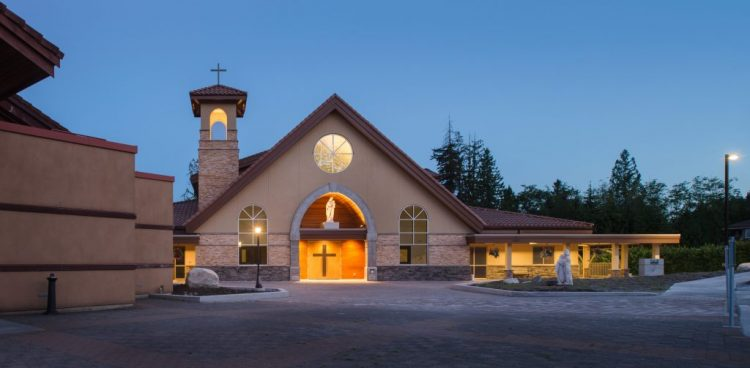 architectural design for st. clare of assisi catholic parish