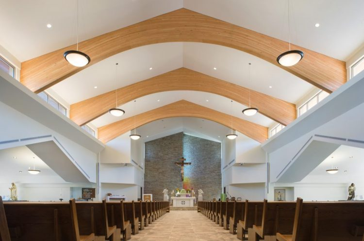 st. clare of assisi catholic parish interior design