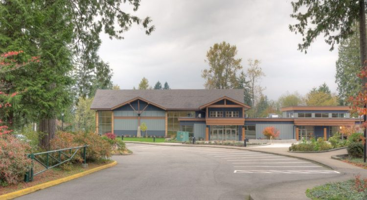 architecture design for church in langley