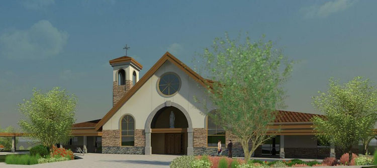 st clare of assisi catholic parish keystone architecture