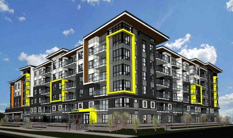 scott road transit village rendering surrey, bc