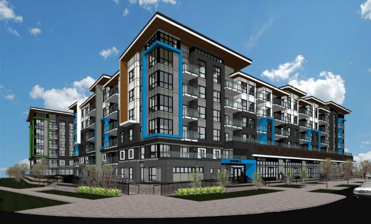 surrey, bc architecture design of scott road transit village