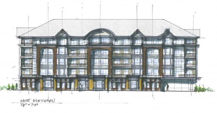 montrose abbotsford architect drawing