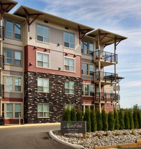 alder park development in chilliwack, bc