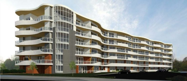 Architectural design of The Legacy on Park Avenue, Langley