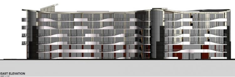 architect rendering of the legacy on park avenue, langley